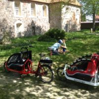 Cargobike Tour mit Kind