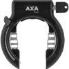 Das Rahmenschloss von AXA ist ein nützliches Zubehör für alle, die ihr Lastenrad gern gegen Diebstahl schützen möchten.