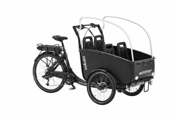 Wahlweise stehen als Motorisierung ein Mittelmotor von SHIMANO oder ein Hinterradnabenmotor von PROMOVEC zur Auswahl.